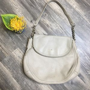 Kate Spade Cobble Hill Grey Pebbled Leather Purse